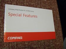 Compaq iPaq Pocket PC H3700 Series Special Features Manual REDUCED PRICE