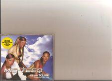 MIS TEEQ B WITH ME CD SINGLE 2002 ALESHA DIXON