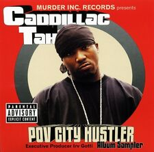 Caddillac Tah POV CITY HUSTLER (Promo CD Album Sampler) (2001) SUPER RARE