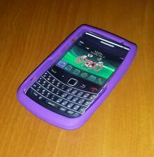 New Unbranded Blackberry Bold 9700 Purple Silicone Rubber Gel Case