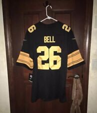 Nwt* Mens Nike Size Large Leveon Bell Steelers Color Rush Nfl Football Jersey