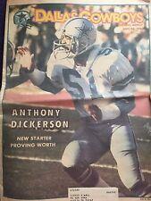 """ NFL Dallas Cowboys Official Weekly Magazine September, 24, 1983; Vol. 9, No.15"