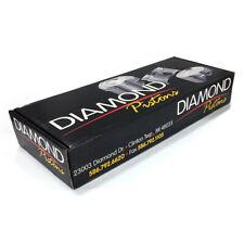 "Diamond Racing Piston Kit 12714-8; 4.625"" Bore 46.0cc Dome for Chevy 565 BBC"