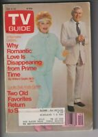 Tv Guide Mag Lucille Ball Andy Griffith October 4-10, 1986 110319nonr