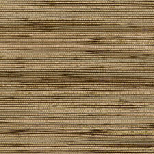 Browns on Black Colors Unpasted Real Textured Grasscloth Wallpaper 488-401