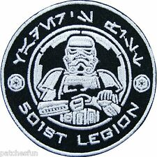 Star Wars Episode 501st Legion Storm Storm Trooper Movies Iron on Patches #0119