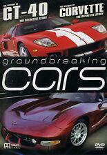 GROUNDBREAKING CARS  HISTORY OF THE GT40 & CORVETTE UK Release New R2