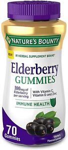 Elderberry Gummies by Nature's Bounty - Supports Immune Health, Contains...