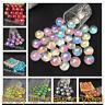 wholesale!Titanium rainbow aura ball lemurian crystal sphere reiki healing BM40