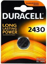 Du2430 PILA Batteria Lithium a Bottone Duracell Litio 2430 Dl2430 Cr2430 K2430l