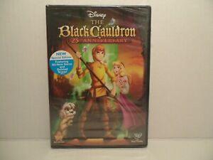 THE BLACK CAULDRON New Sealed DVD Disney 25th Anniversary Edition