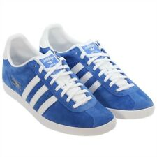 the best attitude e9cf2 045f8 Adidas Originals para Hombre de Cuero con Cordones Gazelle OG Zapatillas  Zapatos informales Gamuza