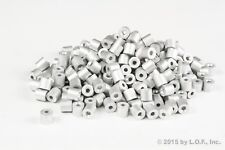 """100 - Ferrule Stops Only 3/32"""" Aluminum Cable Snare Wire Swage Trap Line End"""