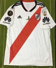 River Plate 2019 Home Soccer Jersey Shirt Climacool FINAL COPA LIBERTADORES