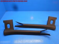 05-09 FORD MUSTANG CONVERTIBLE INTERIOR WINDSHIELD PILLAR POST COVER TRIM PAIR