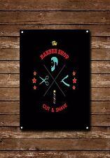 Barber Shop Sign, Metal Sign, Barber Shop Signs, Modern Style, Barber Shop, 783