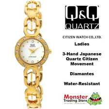 AUSSIE SELLER LADIES BRACELET WATCH CITIZEN MADE 2/TONE GL35-800 P$99 WARRANTY