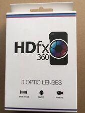 HDFX360 Lentes de Óptica 3 (lentes de alto rendimiento para su dispositivo móvil)
