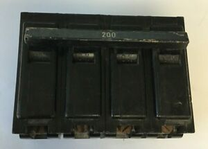 ITE EQ-9483 CIRCUIT BREAKER 200 AMP 120/240VAC 2POLE