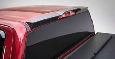 For: GMC SIERRA 2500 HD EXT CAB; 981579 Cab Spoiler Matte Black 2015-2017