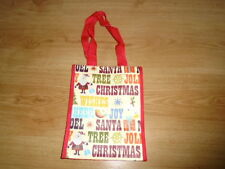 Festive and colourful re-useable Christmas gift bag, suit all ages, BRAND NEW
