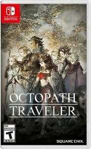 Octopath Traveler (Nintendo Switch, 2018) Brand New and Shrinkwrapped