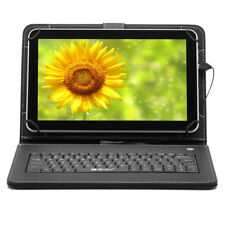 "iRULU 10.1"" Touch Screen Android 4.4 Tablet PC Quad Core Cam 1G/8G with Keyboard"