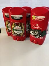 Old spice deodorant Pack Of 5 2.6 Oz Roll Ons 2 Wolfthorn &3 bearglove.