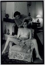 3 Photos Jean François JONVELLE - Triptyque - La coiffure - tirages d'époque -
