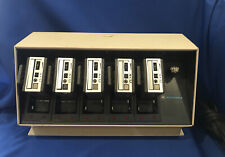 Vintage Motorola Minitor I Charger Multi-bay & 5 Pagers, Nln8412A, Rare Find!