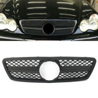 ABS Front Grill Grilles Frame Protector For Mercedes Benz C class W203 2001-2006