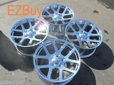 "20"" New Dodge Ram 1500 SRT 10 Style Set of Four New Chrome Wheels Rims 2223"