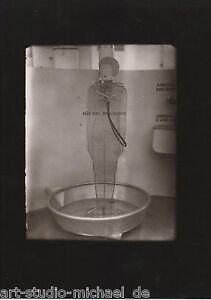 Original Vintage-Foto von Heinz Loew:Bademodel lGlasnegativ, Berlin 1929