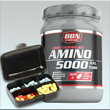 (29,29€/kg) Best Body Nutrition Hardcore Amino 5000  325 Tabl. + Pillenbox