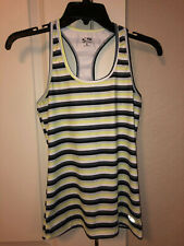 Women's Champion Racerback Striped Athletic Workout Tank Top Shirt Size Small