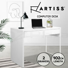 Artiss Office Computer Desk Study Table Home Student Storage Drawers Laptop