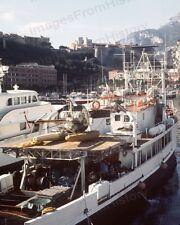 8x10 Print Historic Jacques Cousteau Calypso Research Vessel #JC5