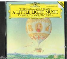 Mozart: A Little Light Music Orpheus Chamber Orchestra - CD Deutsche Grammophon
