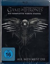 GAME OF THRONES, Staffel 4 (4 Blu-ray Discs) NEU+OVP