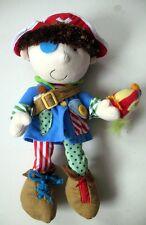 Doudou peluche éducative Manhattan Toy - Pirate - 38 cm
