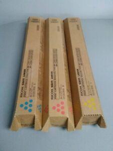 Ricoh 841421, 841422, 841423 Toner Cartridge Aficio MP C3501, Aficio MP C3300
