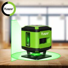 Huepar Green Floor Laser Level Installation for Tile Laying Alignment FL360G