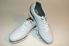 Footjoy Men's PRO SL Golf Shoes - White/Blue/Red
