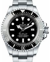 Rolex Deepsea Sea-Dweller Steel & Ceramic Mens Dive Watch Box/Papers 2012 116660