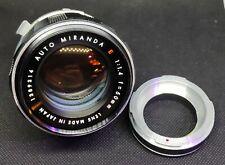 Auto MIRANDA E 50mm f1.4 to m39 Leica screw-mount easy to adapt to mirrorless