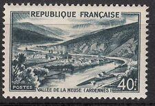 FRANCE  TIMBRE NEUF N° 842 A ** VALLEE DE LA MEUSE