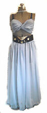 Belly Dance Outfit Costume Renaissance Tribal Pirate Gypsy 4 Pcs Blue One Size