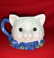 Vintage Avon Precious Calico Kittens Kitten Kitty Cat Coffee Tea Mug ❤️sj11h2s