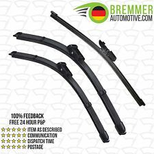 Volkswagen Passat Estate B8 (2014-->) Wiper Blade Complete Set X3 Front Rear