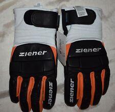 ebf7162680f32a Ziener Grandax Race Ski Gloves Mens size 9.5 Black/Orange